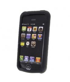 Fourre en silicone noire pour iPhone 3G et 3GS!