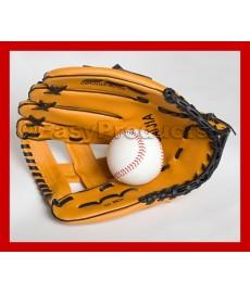 Gant de baseball avec balle