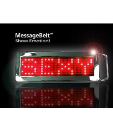 Boucle de ceinture à LED rouge belt buckle
