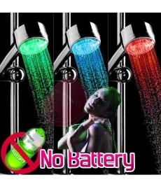 Pommeau de douche à LED avec couleur selon température