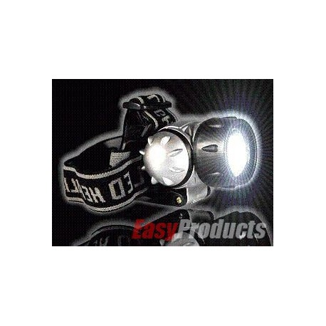 Lampe frontale avec 21 LED blanche