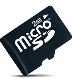 Micro SD 2GB, pour mini caméra, etc