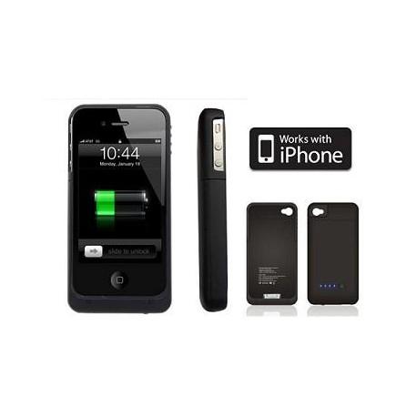 Coque pour iPhone 4 avec batterie intégrée 2000mah