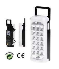 Lampe avec 20 LED blanches - rechargeable