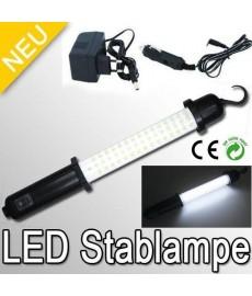 Baladeuse avec 60 LED sur batterie