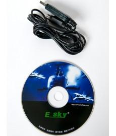 Cable USB pour Simulateur EK2-0900A + CD ORIGINAL ESKY