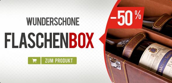 Aktion Flaschenbox Wein