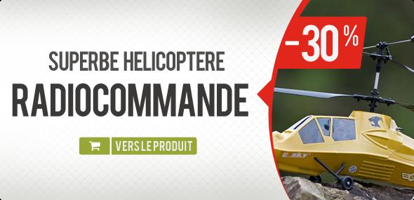 Promo hélicoptère telecommandé